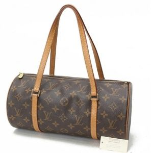 Louis Vuitton Papillon 30 Monogram Handbag M51385